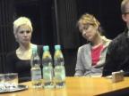 Renia Gosławska i Darina Gapicz