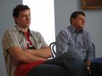 Tomasz Czarnecki i Maciej Korwin - fot. Tomasz Grodzki
