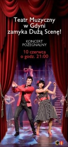 Koncert pożegnalny Dużej Sceny w TM Gdyni
