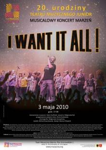 Koncert marzeń na dwudzieste urodziny Teatru Junior
