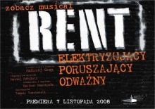 Rent - oczami faceta