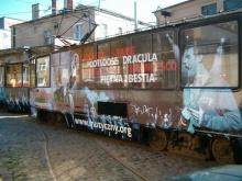Gdański tramwaj promujący gdyński Teatr Muzyczny